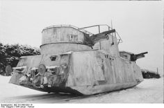 A so called panzerdraisine of russian orgin, now in use with the wehrmacht