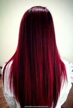 Best red ombre hair color ideas for long hair ★ See more: glaminati. - Best red ombre hair color ideas for long hair ★ See more: glaminati.c… red ombre - Brown Ombre Hair, Dark Red Hair, Ombre Hair Color, Cool Hair Color, Balayage Color, Hair Colour Ideas, Dark Red Ombre, Magenta Hair, Burgundy Hair