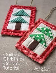 Resultado de imagem para quilt christmas decorations