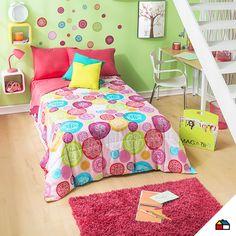 #Sodimac #Homecenter #alfombra #dormitorio #cuarto #espacio #hogar #inspiración #decoracion #homedecor