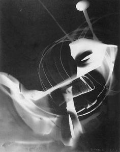 BAUHAUS Laszlo Moholy-Nagy   sans titre 1940  experimentation photographique