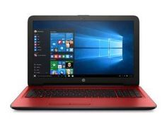 Notebook HP 15-AY005LA Windows 10 Roja