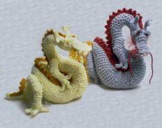 Asian Dragon Amigurumi patrón por skyfirearts