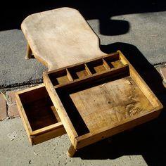 Antique Cobbler's Work Bench 40 x 18 x 14 by ColeCush on Etsy, $475.00