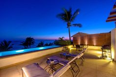 Los Veneros PH409 Pacifico #PuertoVallarta #RealEstate #Condominium Directly facing the ocean, this luxury two level townhouse was built using only superior materials. A warm yet modern Mexican décor is displayed in the furnishings throughout.