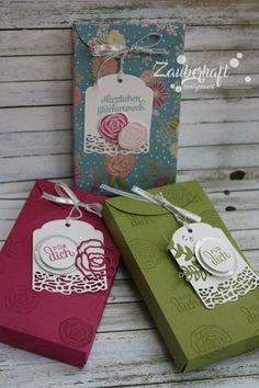 Zauberhaft-handgemacht: Schachtel voller Liebe
