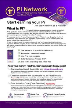Pi Network lets you mine digital currency on your phone/tablet for free. It's still quite new, but growing fast! Mine for free today! Use invite code thientuoanh to join! What Is Pi, Self Employed Jobs, Crypto Mining, Make Easy Money, Home Based Business, Business Ideas, Apps, Be Your Own Boss, Crypto Currencies