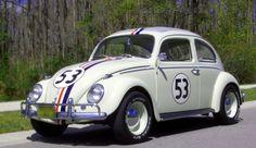 The Love Bug 1962 Volkswagon Beetle movie-and-tv-cars Herbie Meu Fusca Turbinado, Auto Volkswagen, Volkswagon Bug, Kdf Wagen, Vw Vintage, Mini Cooper, Vw Cars, Race Cars, Buggy