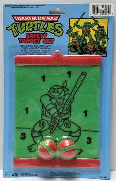 (TAS034028) - 1990 HG International Teenage Mutant Ninja Turtles Safety Set