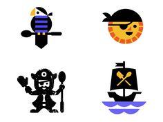 Unused designed by Luke Bott. Connect with them on Dribbble; Pirate Cookies, Logo Design, Graphic Design, Pirate Theme, Logos, Pirates, Identity, Digital Art, Illustration Art