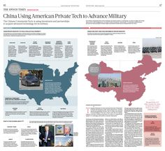 China Using American Private Tech to Advance Military|The Epoch Times #newspaper #editorialdesign