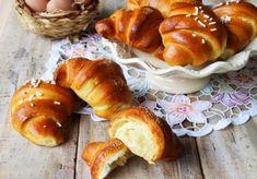 Croissants briochés au Thermomix,recette de délicieux croissants moelleux, très faciles à réaliser pour le petit déjeuner ou le goûter et moins gras que les croissants à la pâte feuilletée.