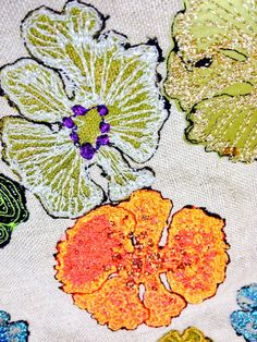 Embroidery by Louise Gardiner