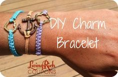 DIY Charm Bracelet - Living Rich With Coupons®