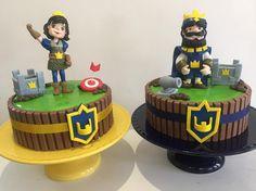 Clash Royale! Rei e Princesa para os irmãos! Um tema de grande procura. #bydocetalento#bydanielacarvalho#cake#clashroyale#clashroyaleparty#clashroyaleideas