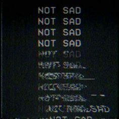 My emotions while listen to music❤❤ it blurrs them and just doesn't let me think of anything.it's just me and my music💕💕 Frases Tumblr, Ex Machina, Vaporwave, Sad Quotes, Deep Quotes, Qoutes, Glitch, Deep Thoughts, Random Thoughts