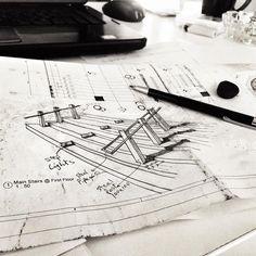 Mohamed Galal Hosny | Technical Director | Good ideas grow on paper – It all starts with a sketch! #auranarratives #designstudio #creativelife #officelife #design #architecture #interior #urbanism #liveauthentic #livethelittlethings #nothingisordinary #visualsoflife #petitejoys #morningslikethese #interiorinspiration #decorinspiration #artwatchers #creativelifehappylife #instalike #picoftheday #deskcomposition #desk #composition #office #workarea #arkanplaza #cairo #egypt #onmydesk…