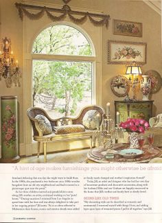 Feature article of my farmhouse in Romantic Country 2012 - Stylist Sunday Hendrickson, Photography by Mark Loehman.