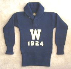 1924 football jersey / sweater