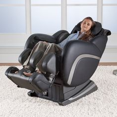 Massage chair dreams. #Brookstone