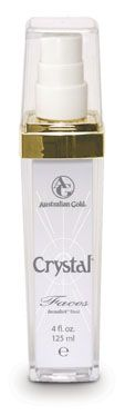 Crystal Faces (4 oz).. though it's small, it's lasted me longer than a year. This is a face lotion that is so smooth with crystal lustre (smooth texture),