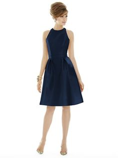 Alfred Sung Style D696 http://www.dessy.com/dresses/bridesmaid/d696/?color=midnight&colorid=47#.VXhA0mO9ZM0