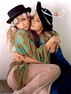 Olsen sisters in Vogue