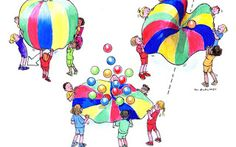 Smart Heads: PARACHUTE GAMES This time I'd like to draw your at...
