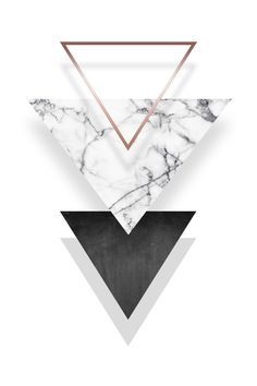 Mehr findest Du in unserem Shop! - Premium-Poster Triangle Marble Feinstes Marmor, Bronze u. Iphone Wallpaper Marble, Geometric Wallpaper Iphone, Gold Wallpaper, Iphone Background Wallpaper, Tumblr Wallpaper, Aesthetic Iphone Wallpaper, Screen Wallpaper, Aesthetic Wallpapers, Wallpaper Quotes