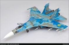 Suchoi SU-27 1/48 Scale Model