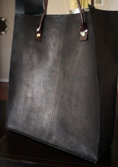 DIY:: Leather Tote