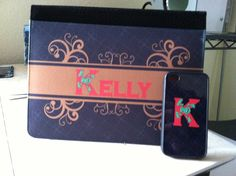 Matching iPad and iPhone cases.   Orders yours today at kristin@dreamlakedesigns.com