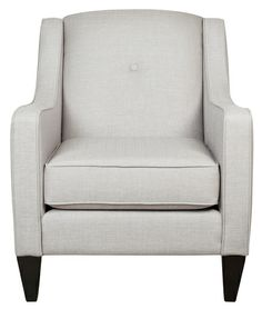 Groove Custom Chair from Urban Barn - refined elegant form providing comfort and support