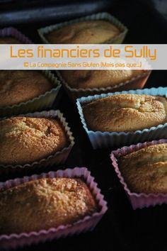 La-Compagnie-Sans-Gluten, un blog-sans-gluten-et-sans-lait !: Financiers, Miam, Miam, sans gluten, sans lait