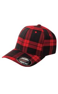 Red and black tartan? This cap makes us want to haul firewood and be awesome. Fitted Baseball Caps, Baseball Hats, Tartan Plaid, Baby Car Seats, Overalls, Fitness, Stuff To Buy, Autumn, Fall