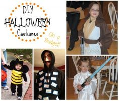 DIY Halloween Costumes (On a Budget) from Missiontosave.com. See Bee, Jedi, Leia, Identity Thief and M&Ms costumes!