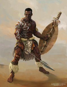 Ranger by Toramarusama on DeviantArt Black Anime Characters, Dnd Characters, Fantasy Characters, Zulu Warrior, Tribal Warrior, Fantasy Character Design, Character Inspiration, Character Art, African Warrior Tattoos