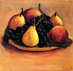 Pears, Peaches and Grapes Andre Derain - 1927-1928