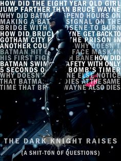 Hypable Honest Poster The Dark Knight Rises