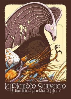 Aaron Horkey's Fantastic Planet Poster