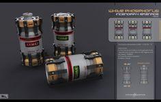 Incendiary Grenade by karanak