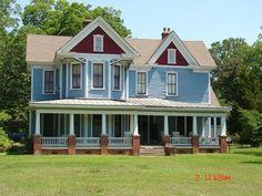 Restored Historical Home Halifax County Nc - Scotland Neck North Carolina