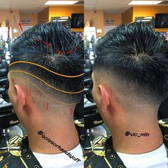 """""""A shout out to my barber ✂️ @vic_mlb and thanks for the cut. Here is my diagram to break this down.@jay_majors @barbershopconnect @barbersince98…"""""""