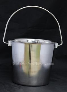 4 Quart Stainless Steel Pail