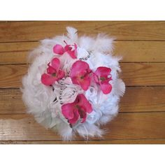 France, White Feathers, Weddings, Artificial Flowers, Lineup, Beads, French