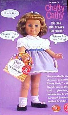I wanted one of these...and when I didn't get it...I hated dolls ever after.  Spoiled brat didn't get what she wanted!l