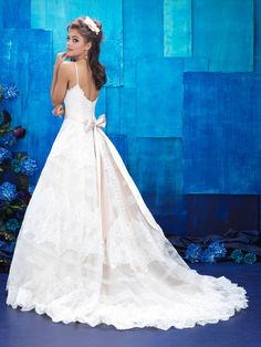 We are obsessed with this Allure Gown! We just got it in, I Do Bridal and Formal, Mobile, AL, Book your appointment today and try on this gorgeous gown!