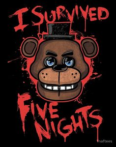 «I Survived Five Nights At Freddy's Pizzeria» de fnaftees