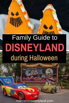 Thinking about taking your kids to Disneyland during Halloween time? From Sept 6-Oct 31, 2019, Disneyland Resort goes all out for Halloween! Click to read more or pin to save for later. www.marcieinmommyland.com #disney #disneyland #DisneySMMC #halloween