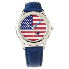 Team Snowboard USA Watch - cyo diy customize unique design gift idea